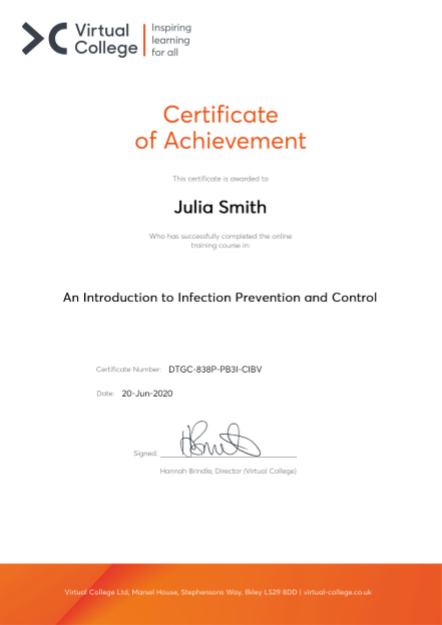 An Introduction to Infection Prevention and Control